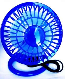 Portable Mini Super Mute PC USB Cooler Cooling Desk Fan
