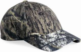 Panel Low Profile Fitted Mossy Oak Camouflage Camo Cap 6999