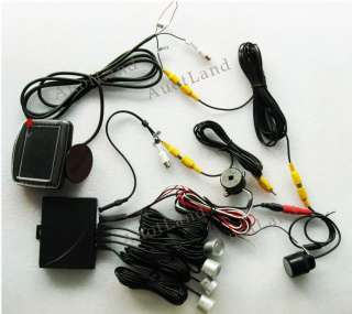 Car Reverse Parking Backup Sensors Rearview Camera