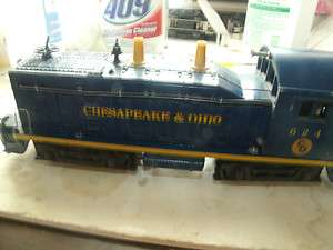 Lionel 624 Chesapeake & Ohio Switcher from one original owner