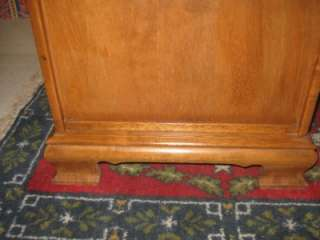 Ethan Allen Heirloom Maple Shutter Door Commode End Table 10 8646