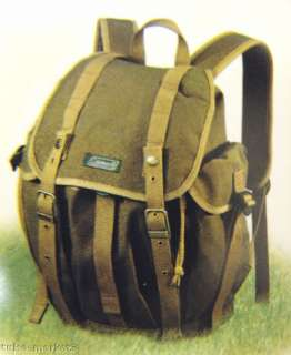 NIB Coleman Military Heritage DayPack BackPack Canvas