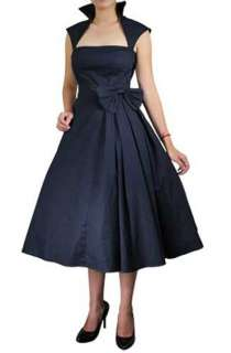ROCKABILLY PINUP RETRO 50S SWING PARTY DRESS VINTAGE