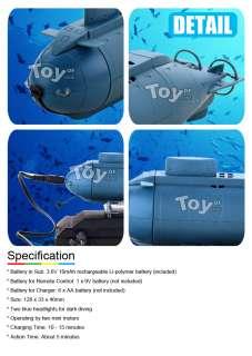 Mini Remote Radio Control RC Submarine Toy Boat Diving