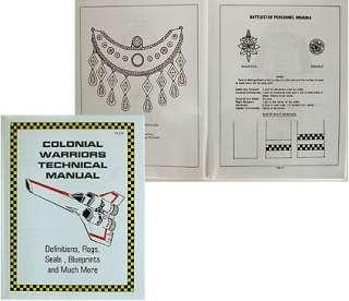 Colonial Warriors Technical Manual Battlestar Galactica