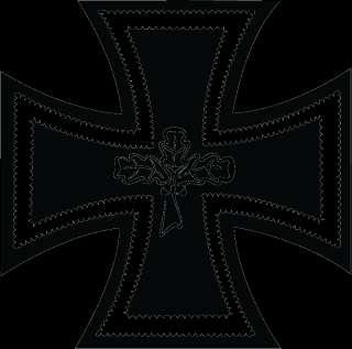 Eisernes Kreuz Aufkleber für Auto PKW Wohnung Wand Iron Cross