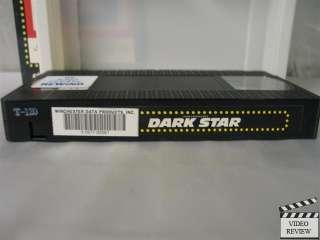 Dark Star VHS Dan OBannon; John Carpenter
