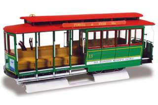SAN FRANCISCO CABLE CAR LINDBERG MODEL KIT 1/25 72162