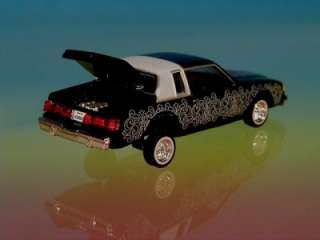 Hot 82 Buick Regal Custom Lowrider Limited Edition 1/64 Scale