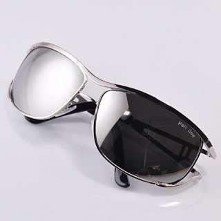 New Aviator square mirror black shade metal frame Mens Sunglasses 004