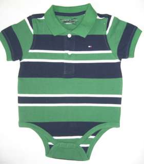 Tommy Hilfiger Boys Polo Shirt Baby Grow 3 18 Months
