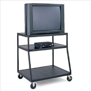 Bretford BBUL4435 M5 Wide Body UL Listed TV Cart with Electrical Unit