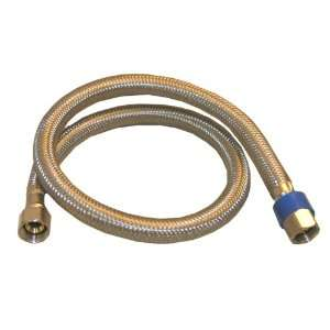 0962 Water Supply Flex, Stainless Steel Braided With Poly Inner Core