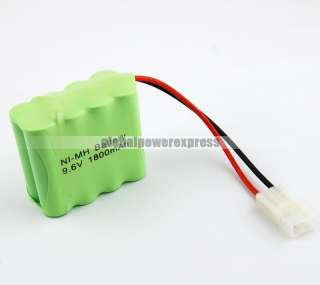 AA RC Ni MH 9.6V/1800mAh Battery Packs Green NO.480