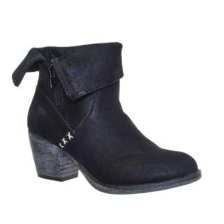 ROCKET DOG SHELDON BLACK LADIES ANKLE BOOTS Size 3 8