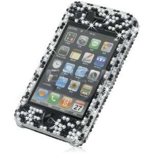 Ecell   ZEBRA CRYSTAL DIAMOND BLING CASE FOR IPHONE 3G 3GS