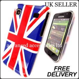 FOR SAMSUNG i9000 GALAXY S UNION JACK HARD CASE COVER