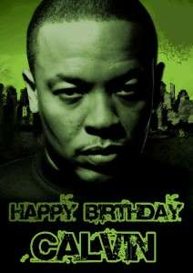 PERSONALISED DR DRE BIRTHDAY CARD