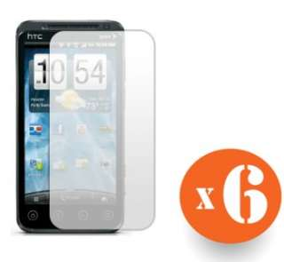Screen Protector Shield Films for HTC Evo 3D Shooter