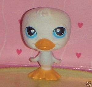 Littlest Pet Shop #108 White DUCK *retired*HTF~♥~