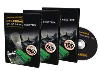 Tachosoft AirBag Online Resetter 45 Point NEW Registration   Save £5