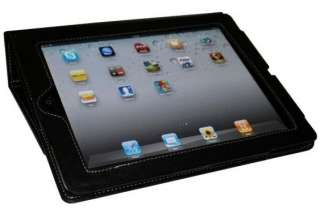 NEW BLACK FLIP CASE COVER STAND FOR APPLE I PAD 2