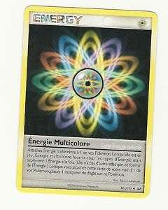 CARTE POKEMON ENERGY ENERGIE MULTICOLORE 121/127 SERIE PLATINE