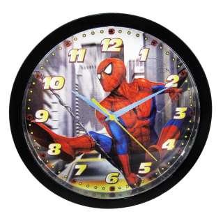 NEW Marvel Spider Man Kids Comic Book Wall Clock 10