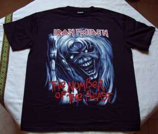 IRON MAIDEN  T SHIRT   The Number Of The Beast #3   XL   NEUF