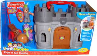 Fisher Price Little People Play N Go Castle Dragon Toys