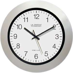 La Crosse 14.00 inch Plastic Atomic Clock: Home & Kitchen