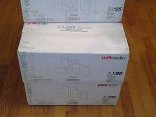 Brand New Polk Audio RM 95 5CH Satellite Speaker System 47192113958