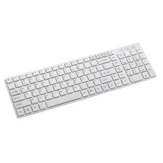 Ultra Slim USB Keyboard White Mac Style   PC Desktop
