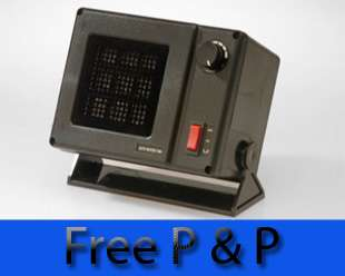 PTC Ceramic In Cab Heater 24V   300W Auto Heater Fan