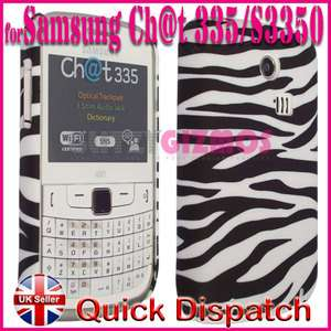 HARD BACK CASE COVER FOR SAMSUNG CHAT CH@T335 S3350