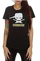 Epic Meal Time Logo Girls T Shirt