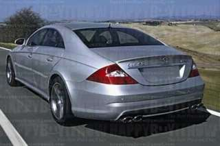PAINTED MERCEDES BENZ W219 CLS TRUNK BOOT LIP SPOILER