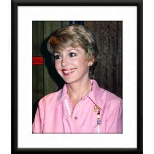 Barbara Rush Framed And Matted 8x10 Color Photo: Home