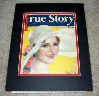 1930 *TRUE STORY* MAGAZINE COVER BILLIE DOVE AA