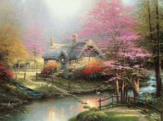 Cottage Stream 1000 Piece Jigsaw Puzzle Ceaco NEW 0021081033107