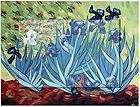Los lirios (Vang Gogh) angelitos de Rafaelo
