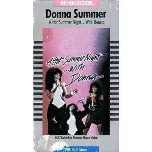 A Hot Summer Night with Donna [VHS]: Donna Summer