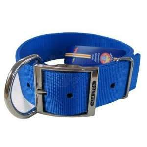 Hamilton Nylon Blue Dog Collar 1 3/4 x 22 inch: Pet
