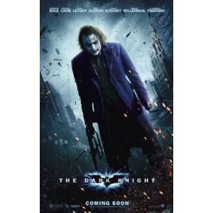 Dark Knight Joker Heath Ledger Mini Movie Poster Home