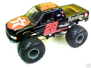 RARE! RICKY RUDD 1:24 CUSTOM TEXACO MONSTER TRUCK