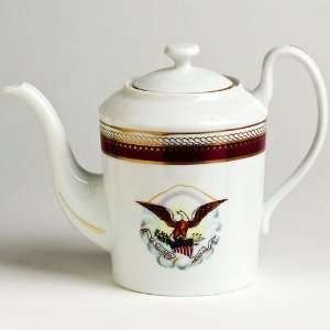 Smithsonian Reproduction Lincoln China Teapot:  Kitchen