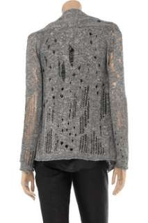 Lines open knit silver cardigan is the epitome of laid back cool. For