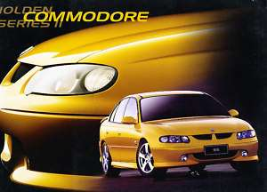 2002 Holden Commodore SS Sales Brochure Book