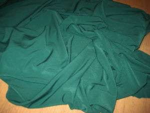 SPRUCE GREEN 2 WAY STRETCH POLY LYCRA FABRIC 60 WIDE