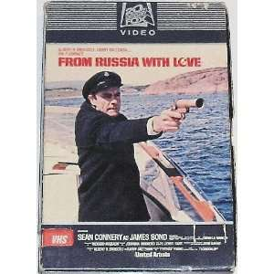 James Bond From Russia with Love (VHS)
